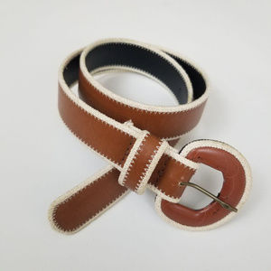Leather Shop Accessories l Brown and Cream Lining